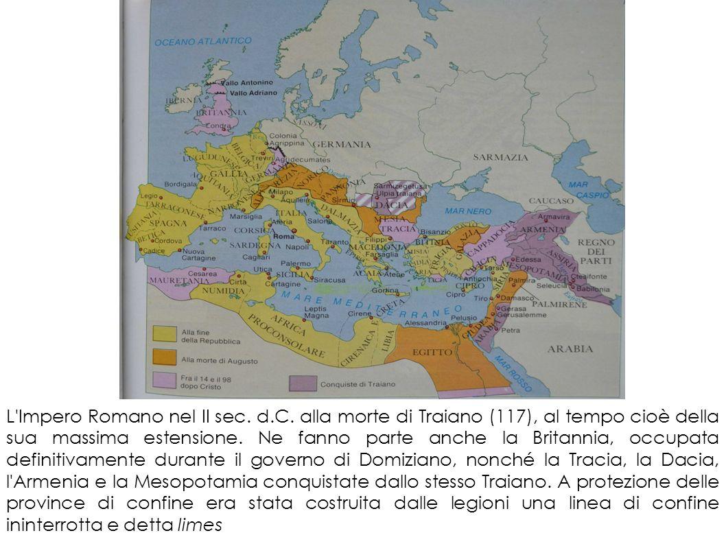 L Impero Romano nel II sec. d. C