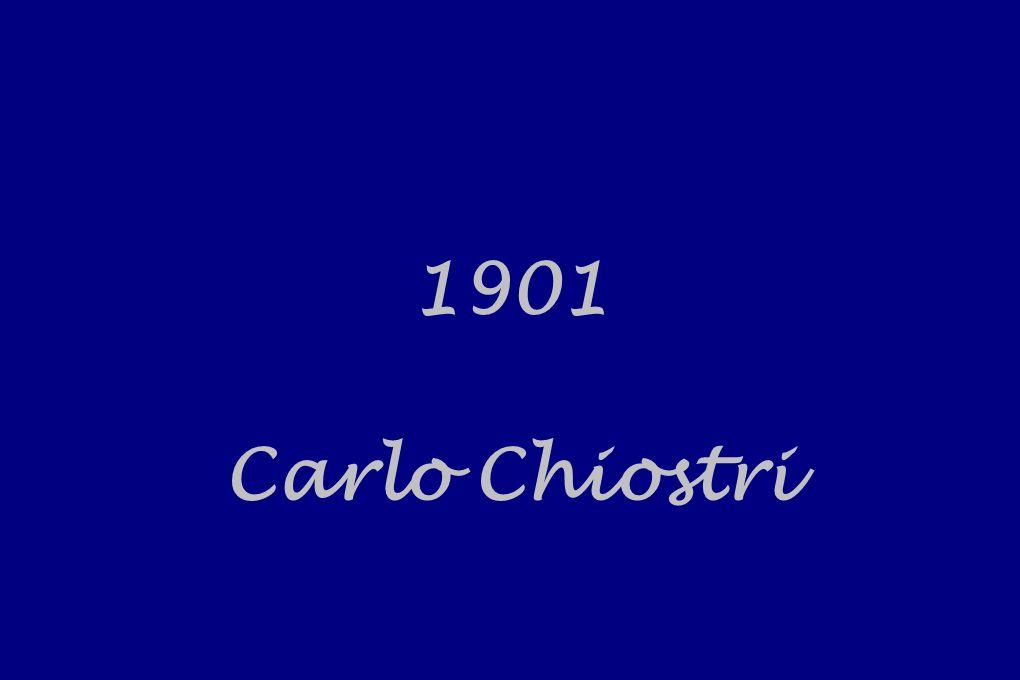 1901 Carlo Chiostri
