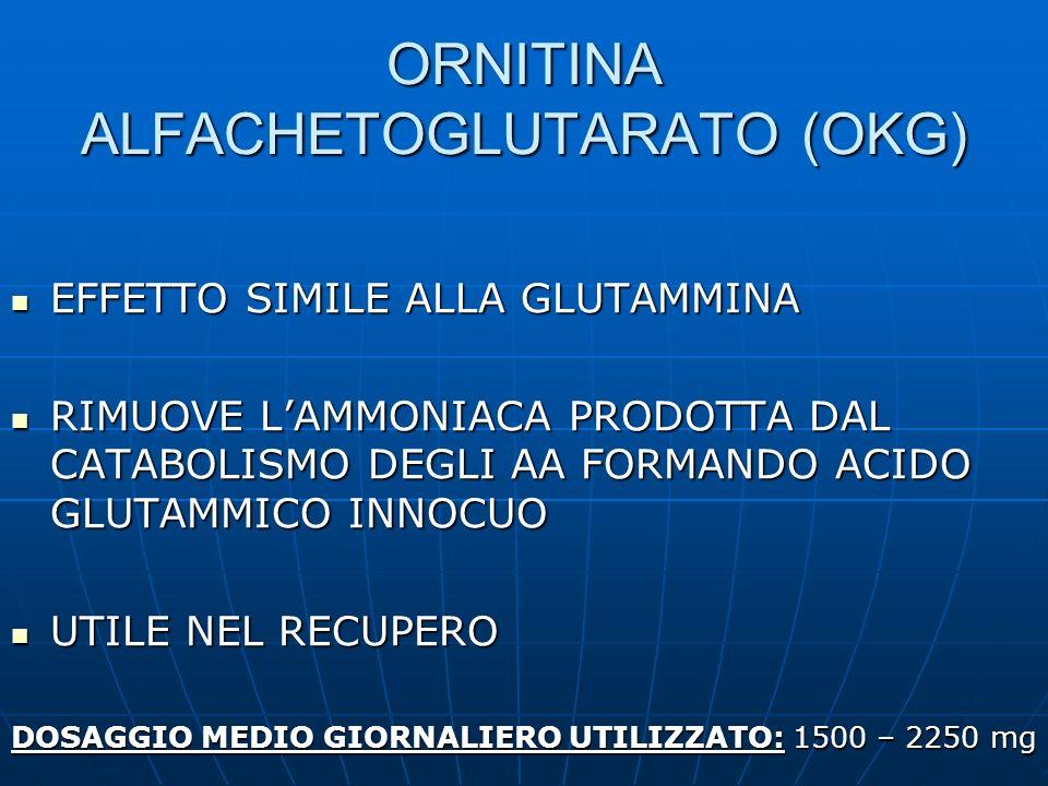 ORNITINA ALFACHETOGLUTARATO (OKG)