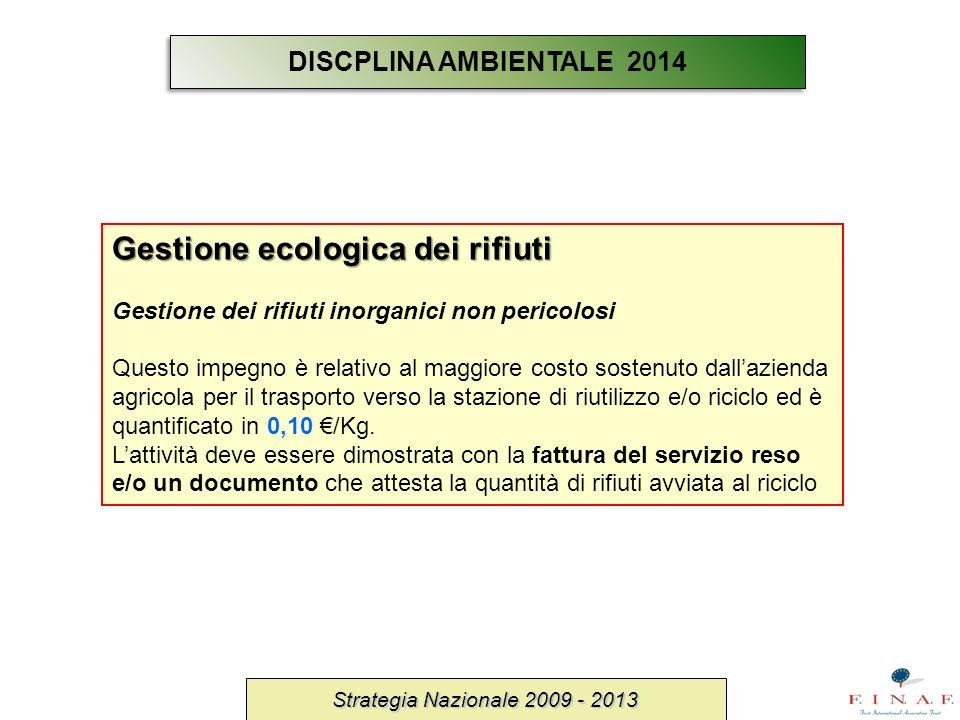 Gestione ecologica dei rifiuti