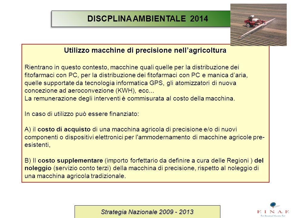 Utilizzo macchine di precisione nell'agricoltura
