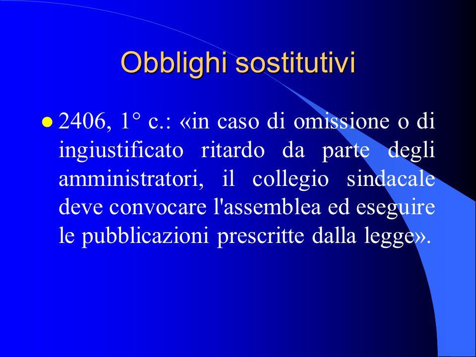 18/04/2017 Obblighi sostitutivi.