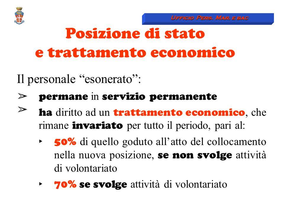 e trattamento economico