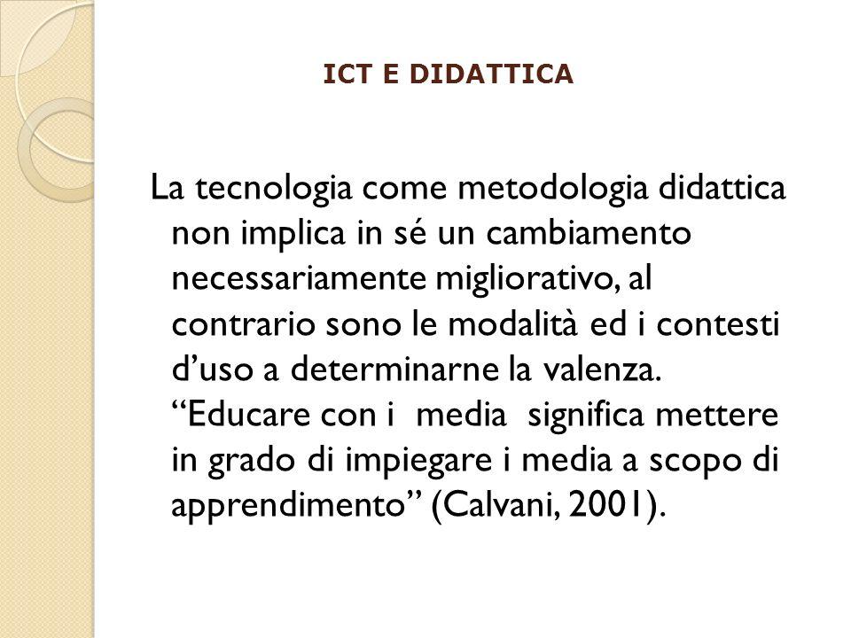ICT E DIDATTICA
