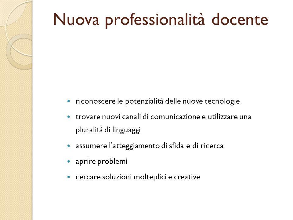 Nuova professionalità docente
