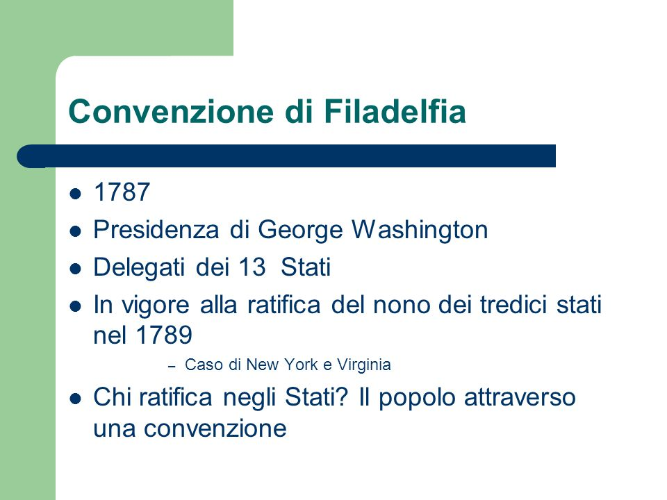Convenzione di Filadelfia