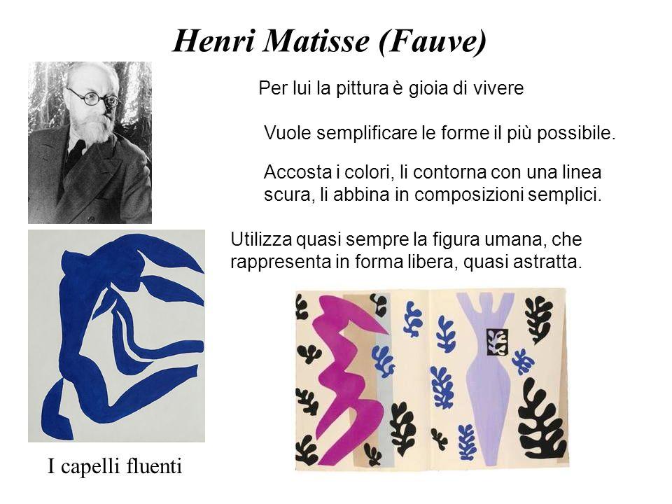Henri Matisse (Fauve) I capelli fluenti