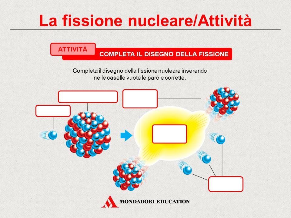 La fissione nucleare/Attività