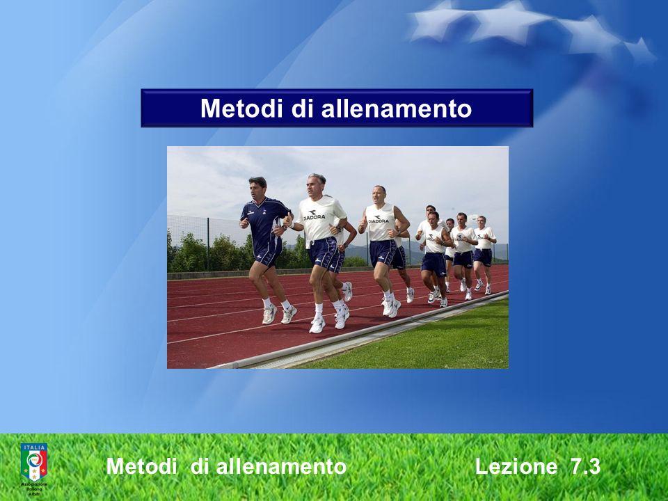 Metodi di allenamento Metodi di allenamento Lezione 7.3