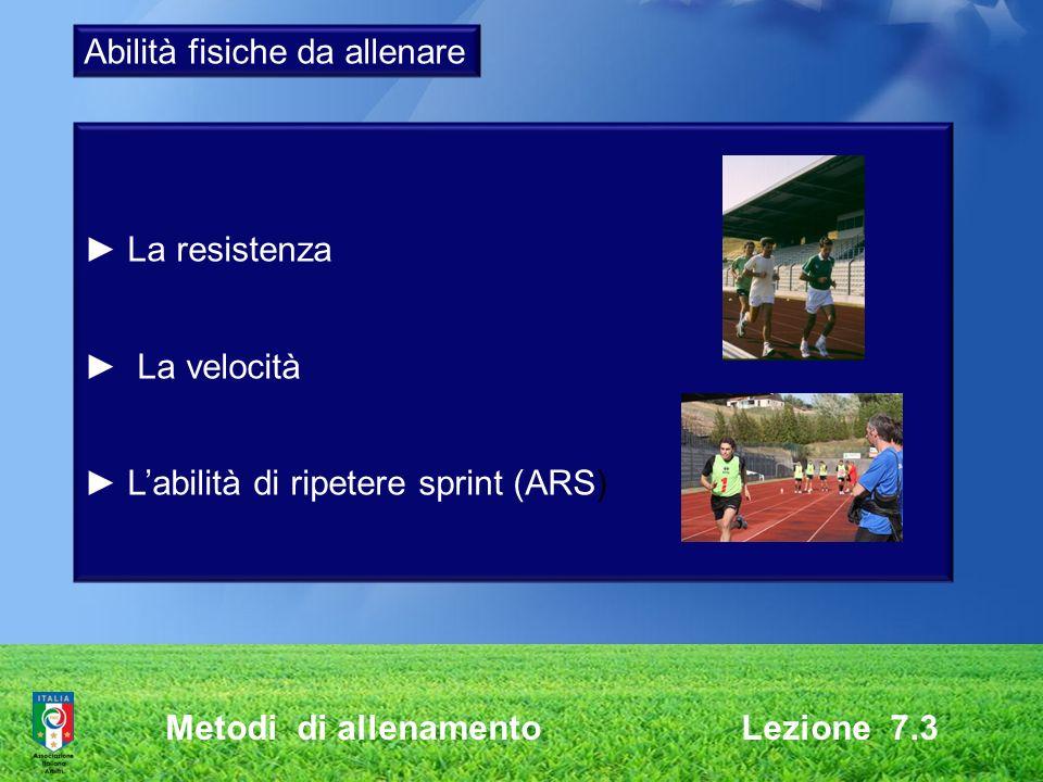 Abilità fisiche da allenare