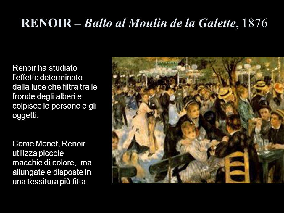RENOIR – Ballo al Moulin de la Galette, 1876