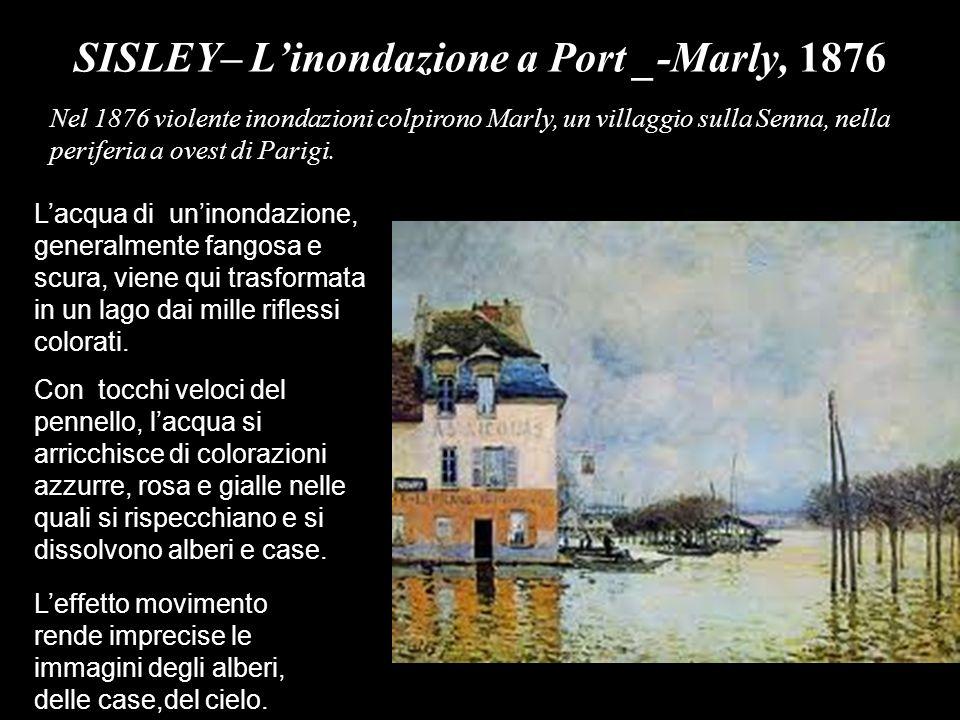 SISLEY– L'inondazione a Port _-Marly, 1876