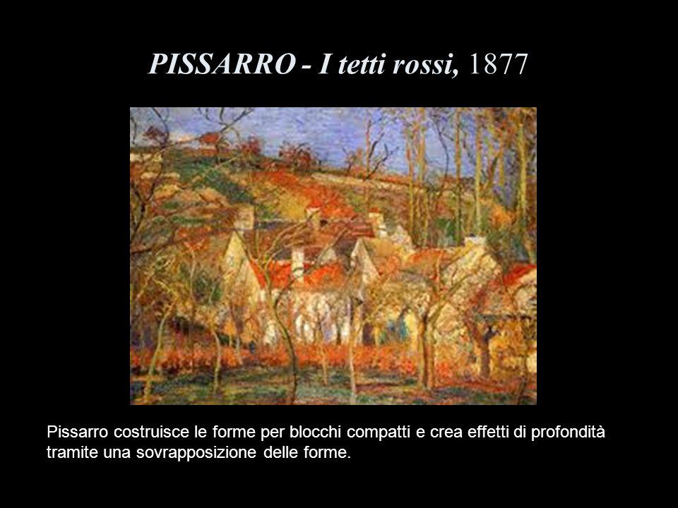 PISSARRO - I tetti rossi, 1877