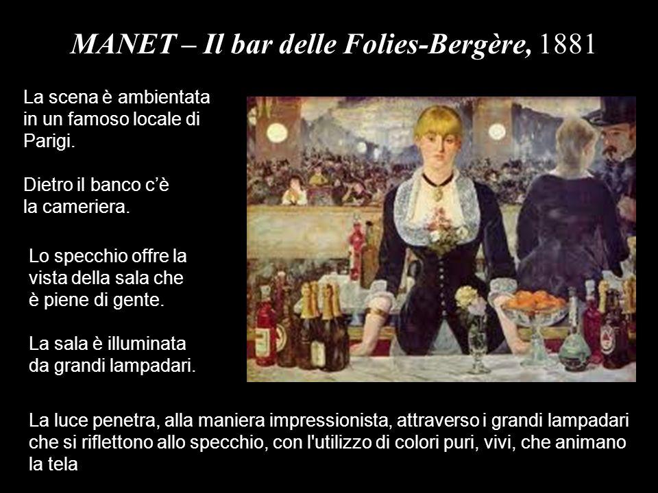 MANET – Il bar delle Folies-Bergère, 1881