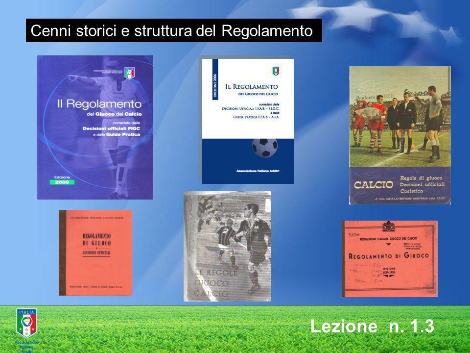 Cenni storici e struttura del Regolamento