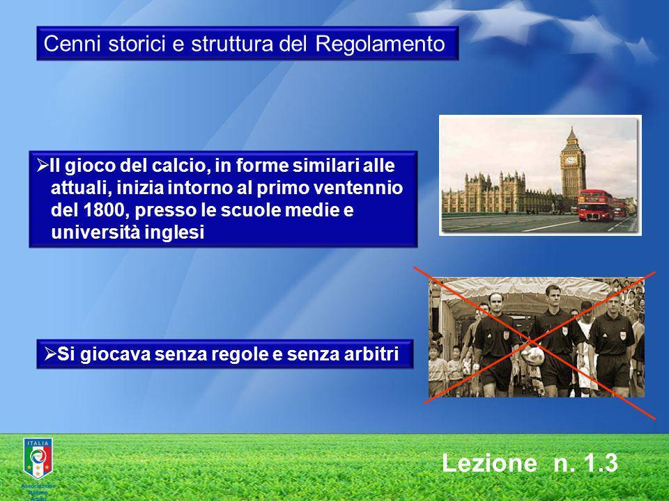 Lezione n. 1.3 Cenni storici e struttura del Regolamento