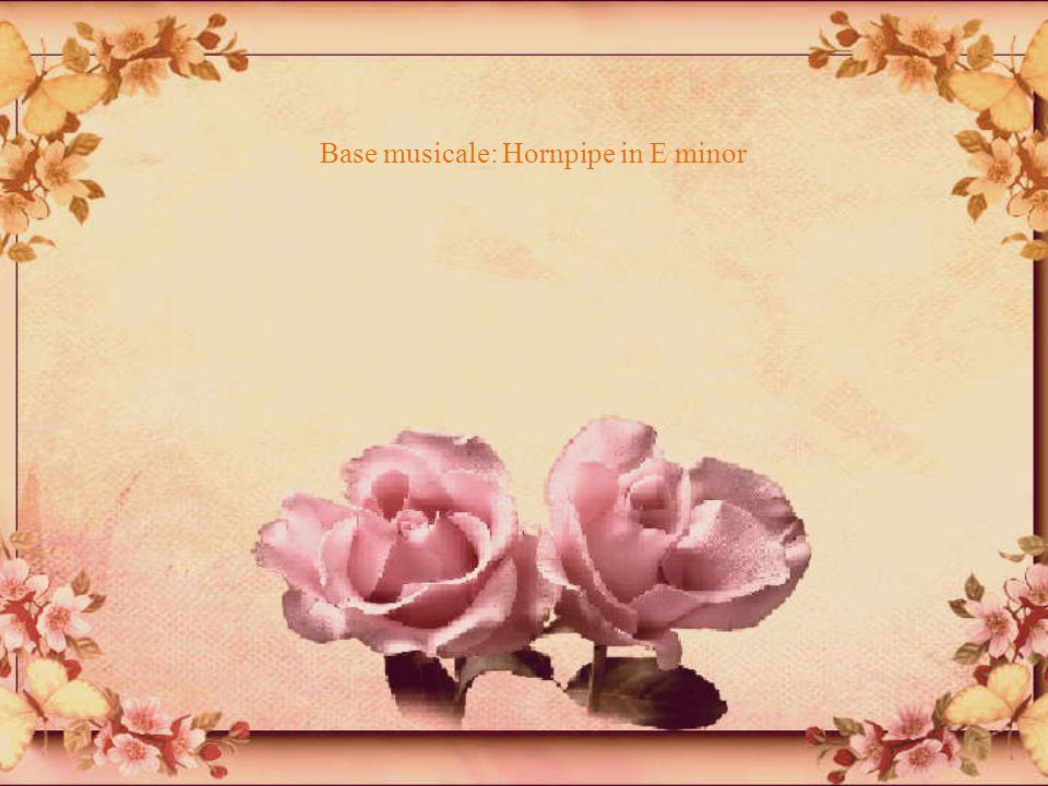 Base musicale: Hornpipe in E minor