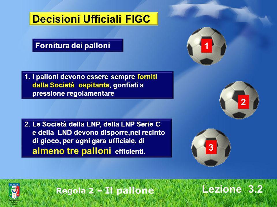 Decisioni Ufficiali FIGC