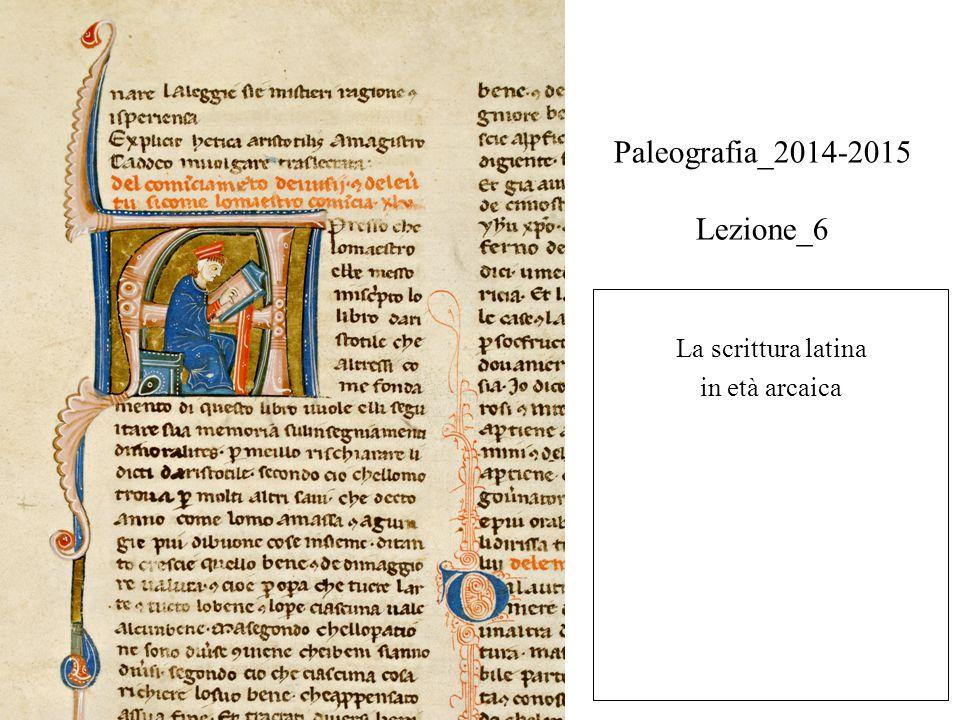 Paleografia_2014-2015 Lezione_6