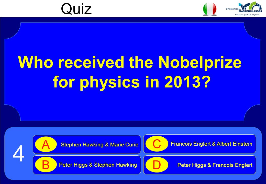 Who received the Nobelprize