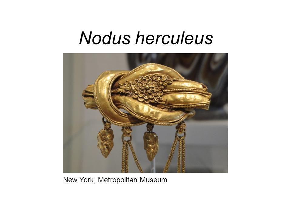 Nodus herculeus New York, Metropolitan Museum