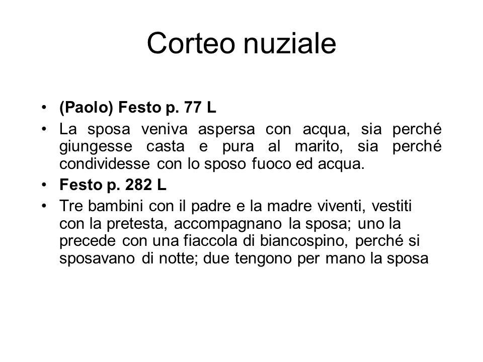 Corteo nuziale (Paolo) Festo p. 77 L
