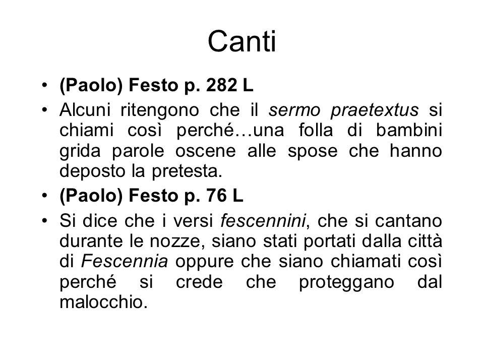 Canti (Paolo) Festo p. 282 L.