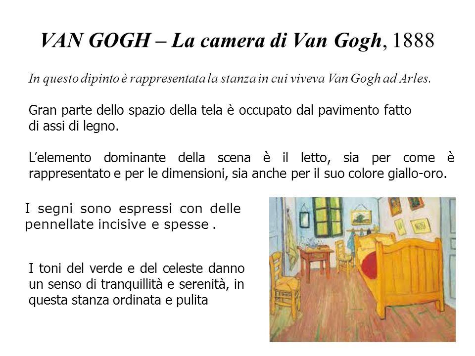 VAN GOGH – La camera di Van Gogh, 1888