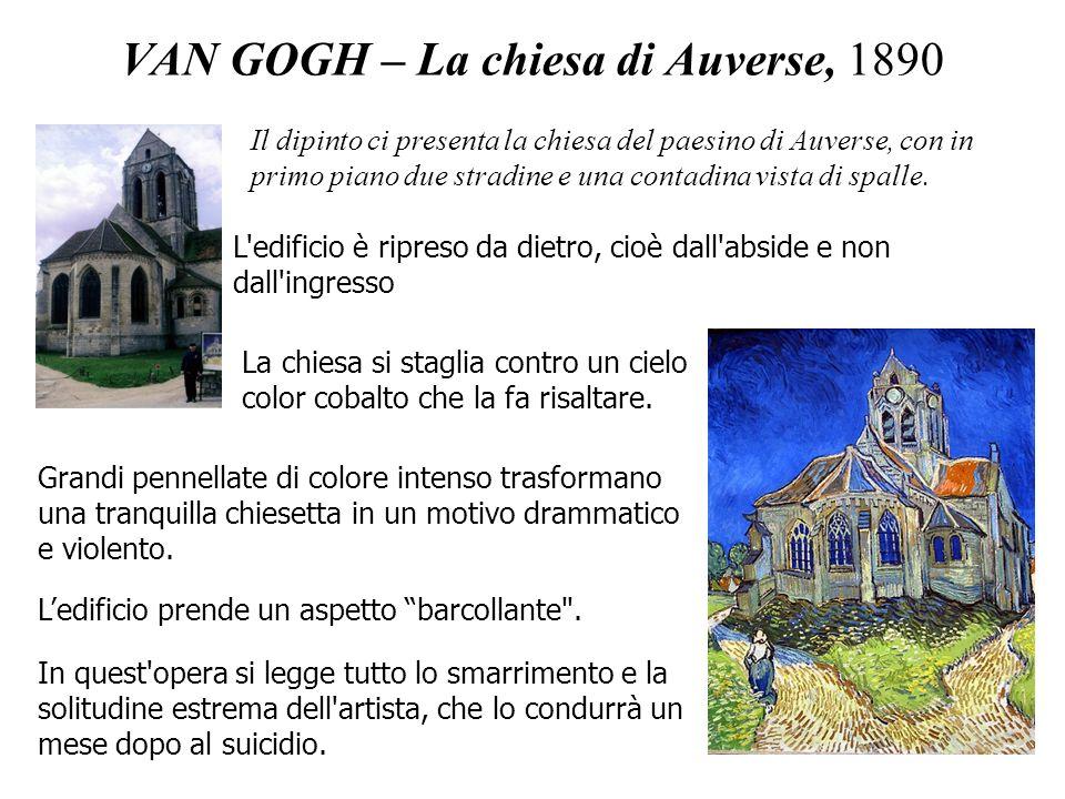 VAN GOGH – La chiesa di Auverse, 1890