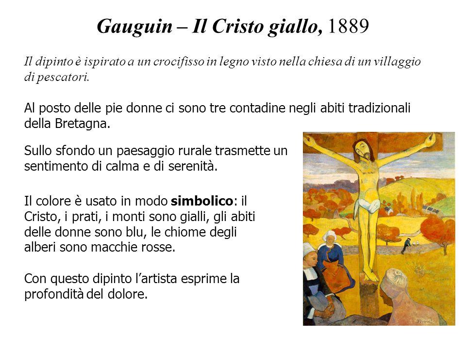 Gauguin – Il Cristo giallo, 1889