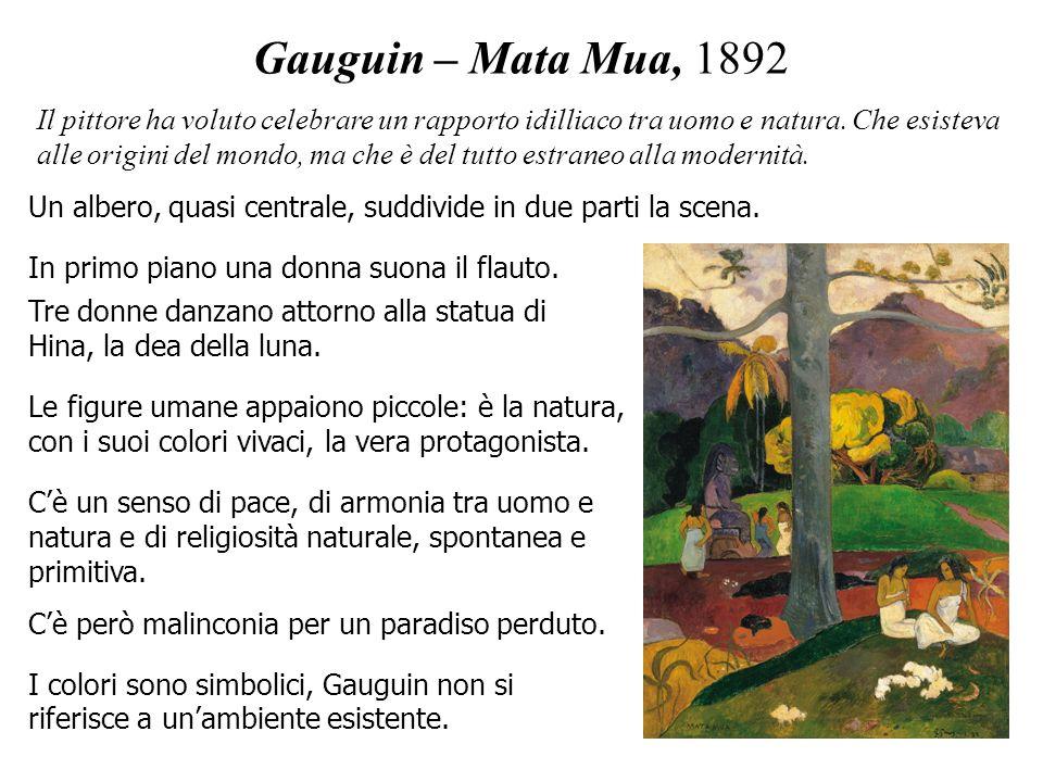 Gauguin – Mata Mua, 1892