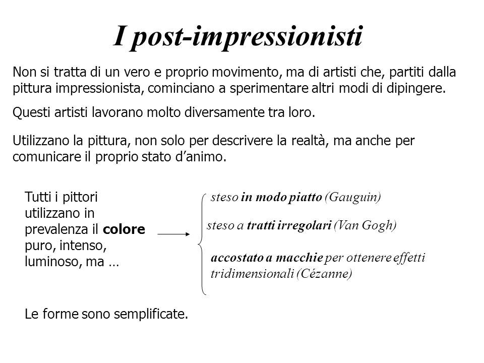 I post-impressionisti