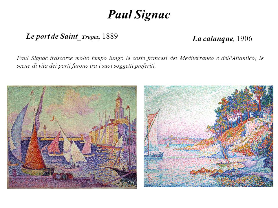 Le port de Saint_Tropez, 1889