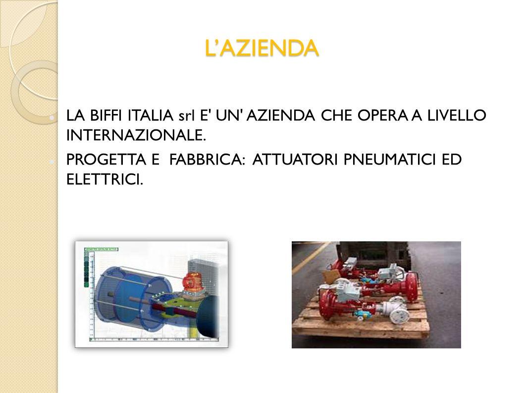 L'AZIENDA LA BIFFI ITALIA srl E UN AZIENDA CHE OPERA A LIVELLO INTERNAZIONALE.