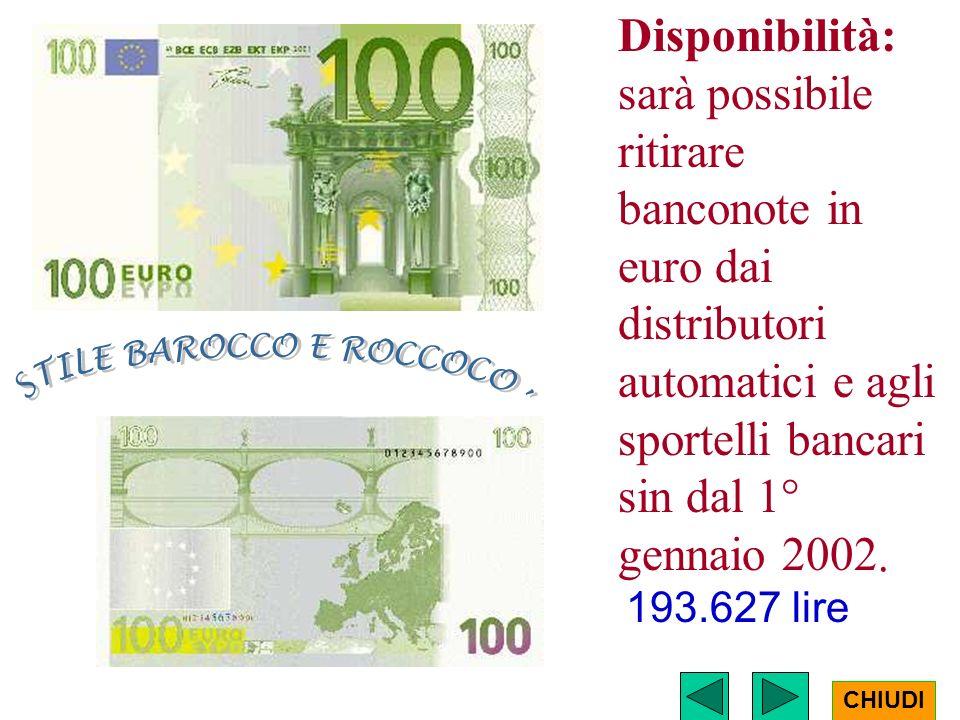 STILE BAROCCO E ROCCOCO