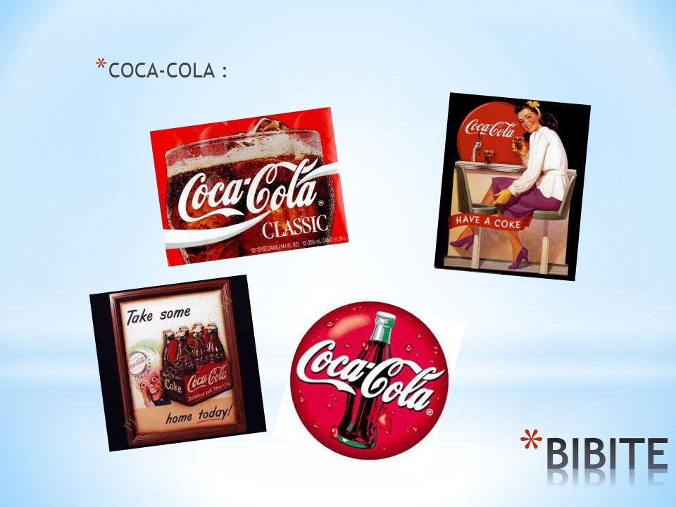 COCA-COLA : BIBITE