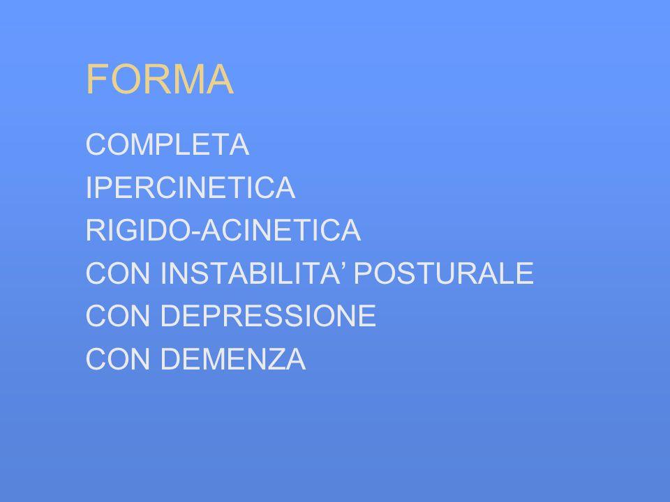 FORMA COMPLETA IPERCINETICA RIGIDO-ACINETICA