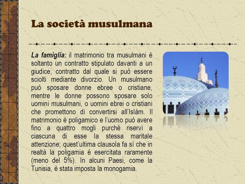 La società musulmana