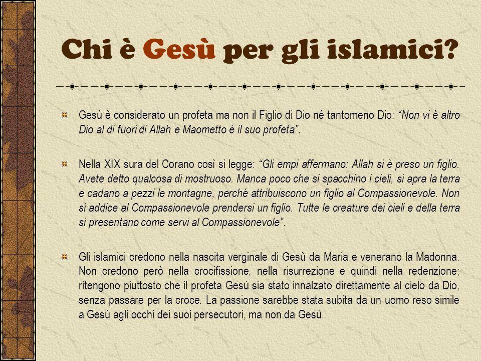 Chi è Gesù per gli islamici