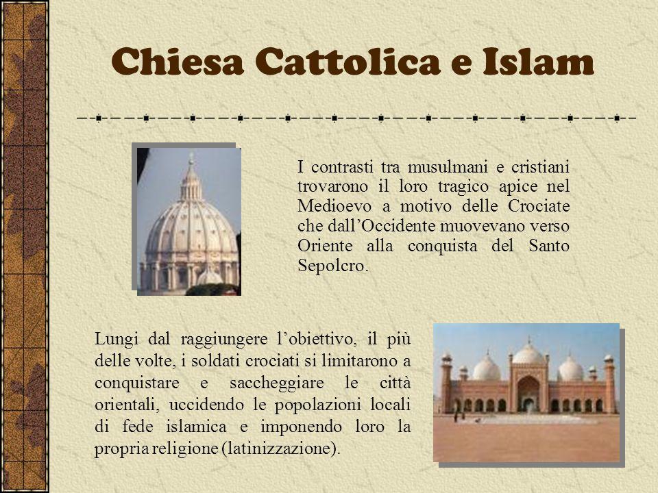 Chiesa Cattolica e Islam
