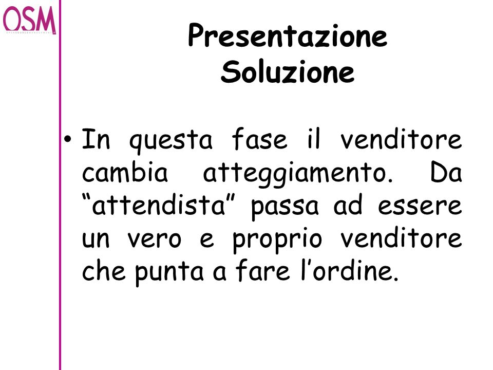 Presentazione Soluzione