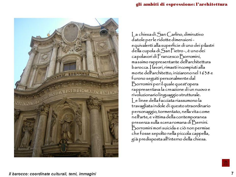gli ambiti di espressione: l'architettura