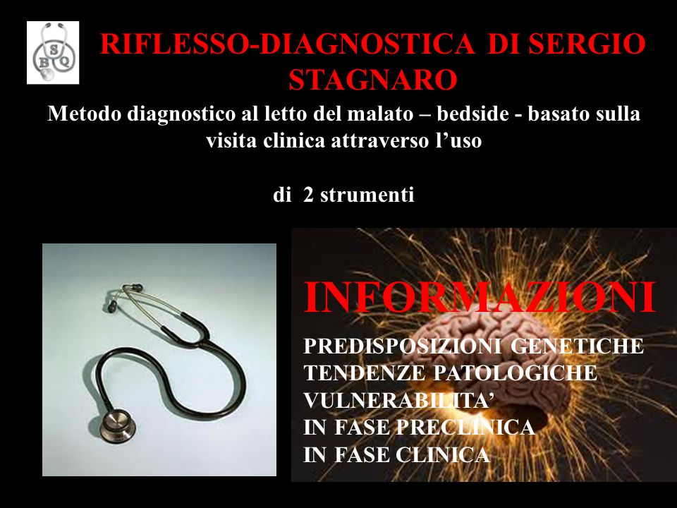 RIFLESSO-DIAGNOSTICA DI SERGIO STAGNARO