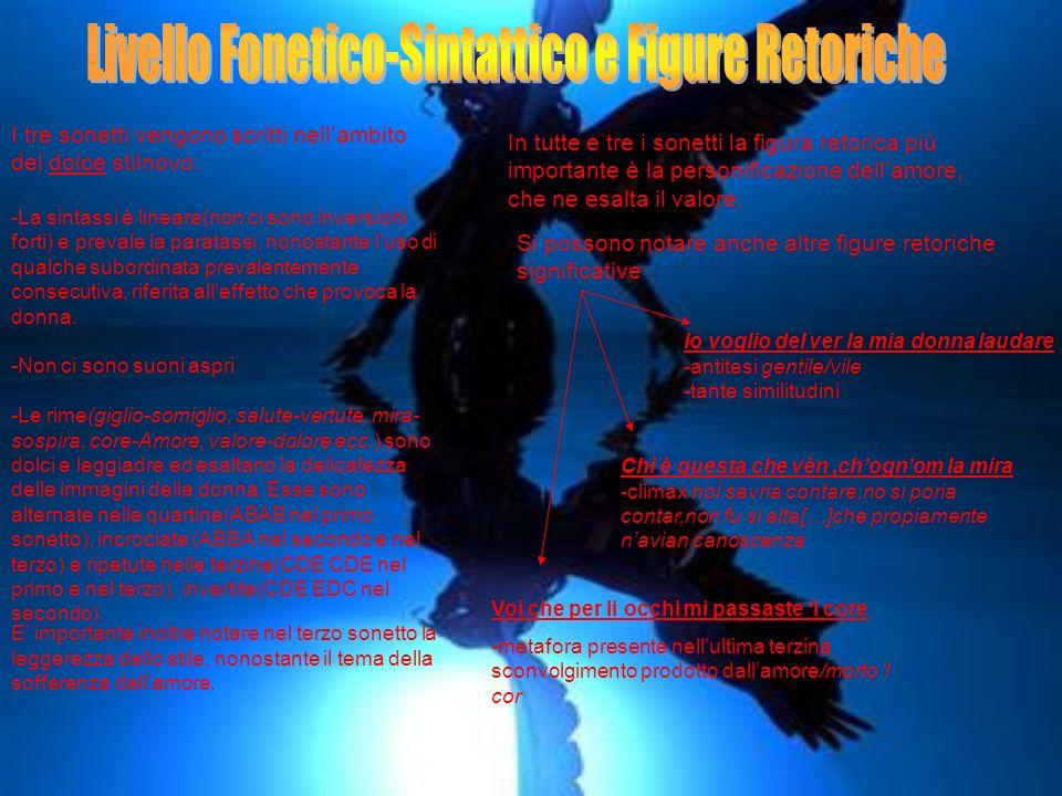 Livello Fonetico-Sintattico e Figure Retoriche