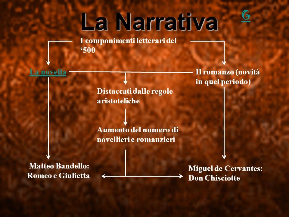 La narrativa La narrativa La Narrativa G