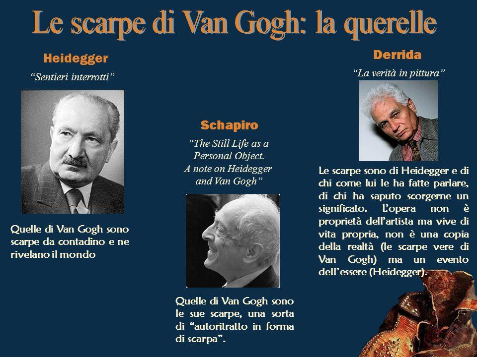 Le scarpe di Van Gogh: la querelle