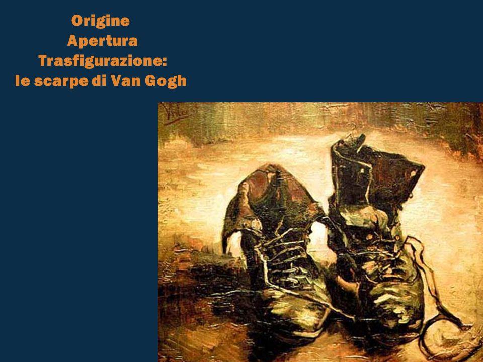 Origine Apertura Trasfigurazione: le scarpe di Van Gogh