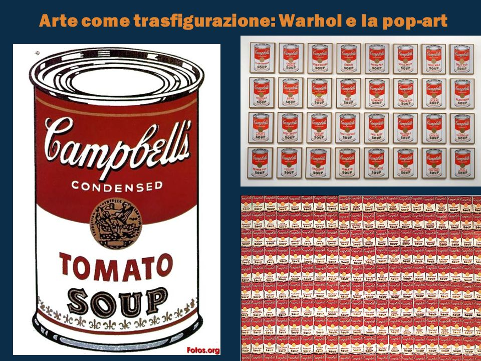 Arte come trasfigurazione: Warhol e la pop-art