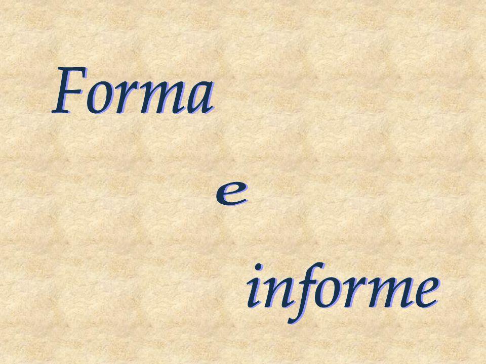 Forma e informe