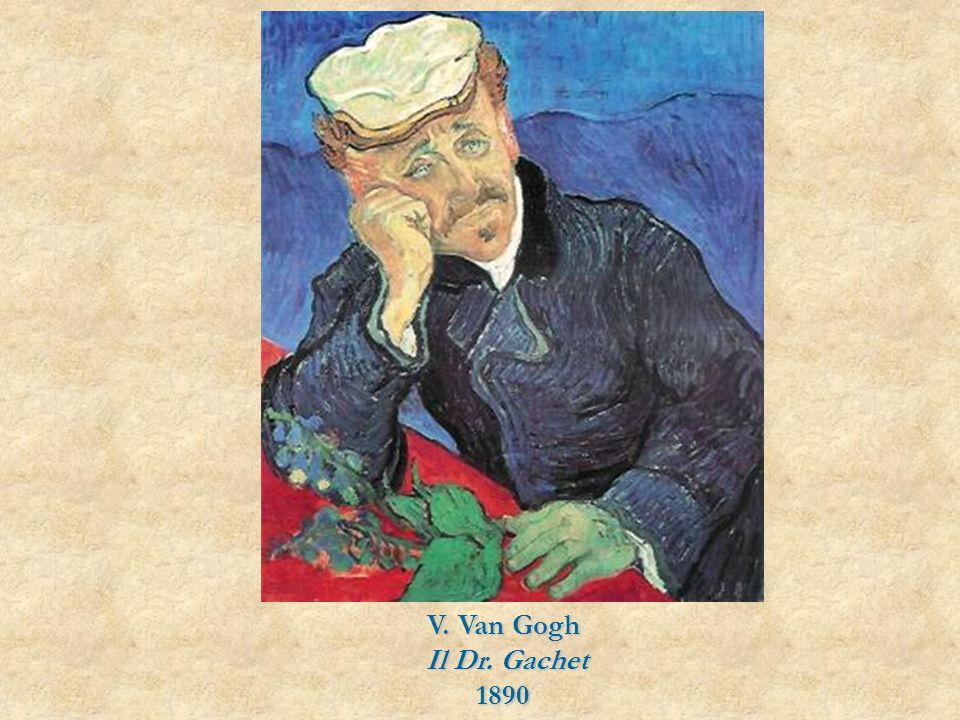 V. Van Gogh Il Dr. Gachet 1890
